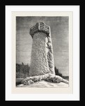 The Falls of Niagara: The Terrapin Tower in Winter, Canada by Anonymous