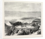The Ashantee War: Ascension Island, the Sanatorium for the Sick and Wounded: The Hospital, Anglo Ashanti War, Ghana by Anonymous