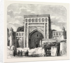 The Russian Expedition to Khiva, Views in the City: The School Rachim-Berbi-Bia, Uzbekistan by Anonymous
