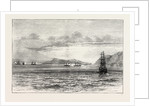 The Tetuan and the Vitoria Exchanging Broadsides, Sketched from H.M.S. Research by Anonymous