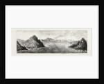 The Ashantee War: View of Aquidah, Shelled by H.M.S. Druid, August 28, 1873, Anglo Ashanti War, Ghana by Anonymous