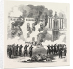 The Revolution in Sicily: Massacre of People by the Royal Troops at the Convent of the White Benedictines, Palermo, Italy by Anonymous