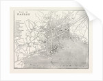 Map of Naples, Italy by Anonymous