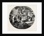 What's O'Clock? What's O'Clock? 1860 Engraving by Anonymous