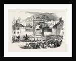 The Embarkation of the Prince of Wales at the Queen's Wharf, St. John's, Newfoundland by Anonymous