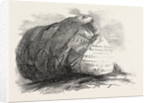 Captain Austin's Arctic Expedition: Sandstone Rock in Winter Harbour, Melville Island by Anonymous