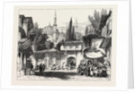 A Street in Constantinople, with the Fountain and Mosque of Sultan Achmet by Anonymous