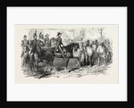 Revolution in France: The President and His Staff, in the Streets of Paris, 1851 by Anonymous