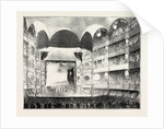 Stage of Drury Lane Theatre in 1808, London by Anonymous
