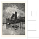 The Houses of Parliament, Westminster, London, 1893 by Anonymous