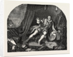 Garrick As Richard III. From Hogarth's Painting by Anonymous