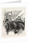 Arrival of Queen Victoria at Florence, Italy: The Reception of Her Majesty at the Railway Station by Anonymous