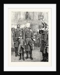 The Reception of the Crown Prince of Prussia Into the First Regiment of Guards at Potsdam by Anonymous