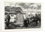 Ascension Day at Etretat: The Ceremony of Blessing the Sea, France by Anonymous