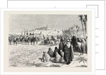 The French in Algeria: An Arab Fantasia at Gardaia in Honour of the Governor of Algiers by Anonymous