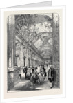 The Galerie Des Glaces, in the Palace of Versailles by Anonymous