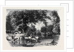 A Landscape in Touraine, by K. Girardet; Un Paysage En Touraine by Anonymous