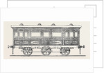 Railway State Carriage for His Highness the Viceroy of Egypt by Anonymous