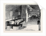 Capt. Grant's Permanent Cooking Kitchen at the Camp, Aldershott by Anonymous