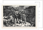 Scene in a Street of Sebastopol, Allied Soldiers Singing No More Trenches, to the Air of Des Lampions. by Anonymous