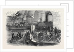 Departure of the Army Works Corps from London Bridge, for the Crimea. by Anonymous