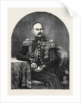 Prince Gortshakoff, Commander-in-Chief of the Russian Army in the Crimea by Anonymous