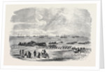 Landing Artillery on the Spit, Kinburn by Anonymous
