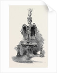 The Paris Universal Exhibition: White Marble Toilet Table by Professor by Anonymous