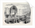 Inauguration of the Statue of the Late Earl of Belfast, at Belfast by Anonymous