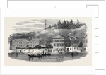 The Submarine Electric Telegraph Station, on the Bosphorus by Anonymous