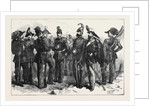 Cavalry and Infantry of the Sardinian Army by Anonymous