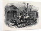 Tuxford and Sons' Steam Pile-Driving Engine, with Two Double Acting Purchases for Lifting Four Rams at a Time. by Anonymous