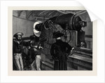 Our Navy, the Present, Inside the Turret of an Ironclad at the Present Time, August 1, 1874 by Anonymous