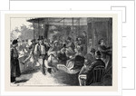 A Merry-Go-Round in the Champs Elysees by Anonymous