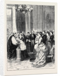 Christening of the Infant Son of the Duke and Duchess of Edinburgh at Buckingham Palace by Anonymous