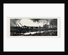 The War in Egypt, the Occupation of Cairo: The Explosion at the Cairo Railway Station, View from the Opposite Side of the Canal by Anonymous