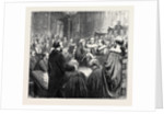 The Opening of Parliament: Introduction of the Earl of Beaconsfield to the House of Lords by Anonymous
