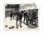 Curling at an Ice Rink, Manchester by Anonymous