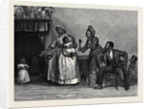 Aunt Chloe's Visit from a Picture by A.E. Emslie by Anonymous