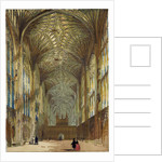 King's College Chapel Cambridge Cambridge University UK by Anonymous