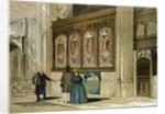 Painted Screen St. George's Chapel by Anonymous
