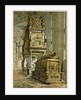Tomb of Mary Queen of Scots: Westminster Abbey UK by Anonymous
