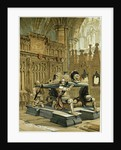 Tomb of Sir Francis Vere in Westminster Abbey UK by Anonymous