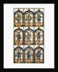 Painted Window Two Saxon Earls of Mercia and Seven Norman Earls of Chester by Anonymous