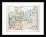 Map of the German Empire 1899 by Anonymous