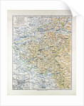 Map of Posen (Poznan) Poland 1899 by Anonymous