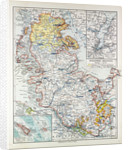 Map of Schleswig-Holstein Germany 1899 by Anonymous