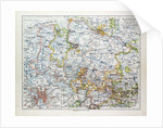 Map of Hannover Germany 1899 by Anonymous