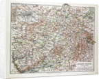 Map of Hessen-Nassau Germany 1899 by Anonymous