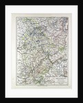 Map of the Rheinprovinz Germany 1899 by Anonymous